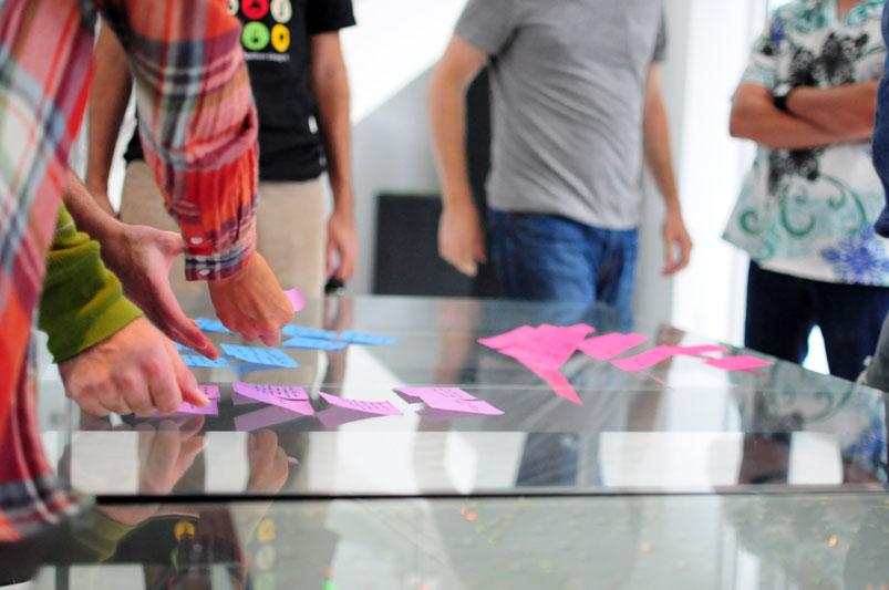 Team meetings-brainstorming session