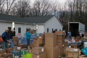 Hurricane Sandy donation effort through FreeTastesGood.com