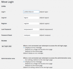 move wp-login.php with Move Login