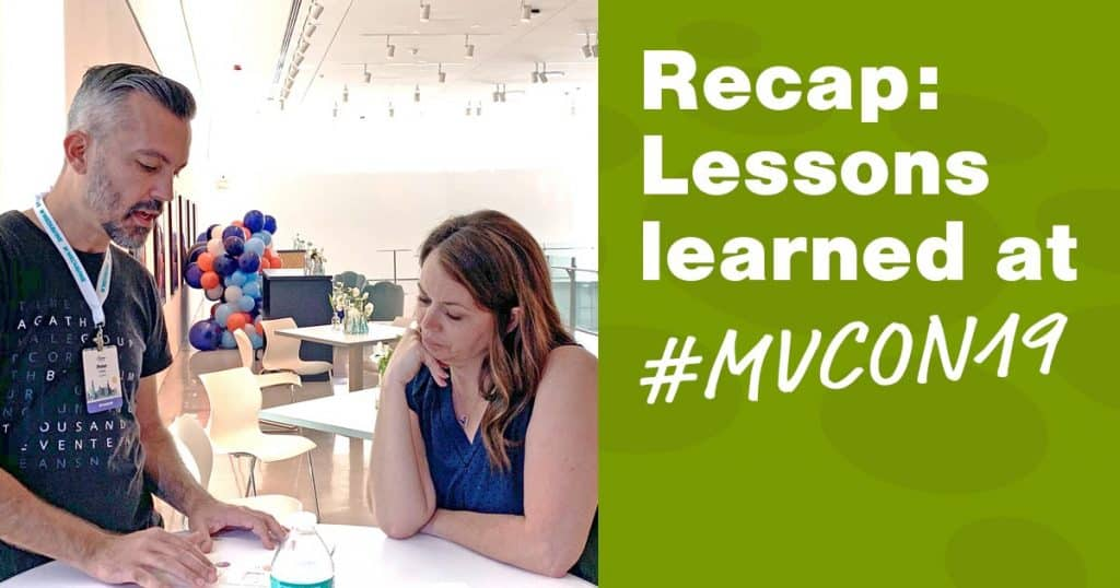 Recap: site performance lessons learned  at #MVCON19 in Chicago