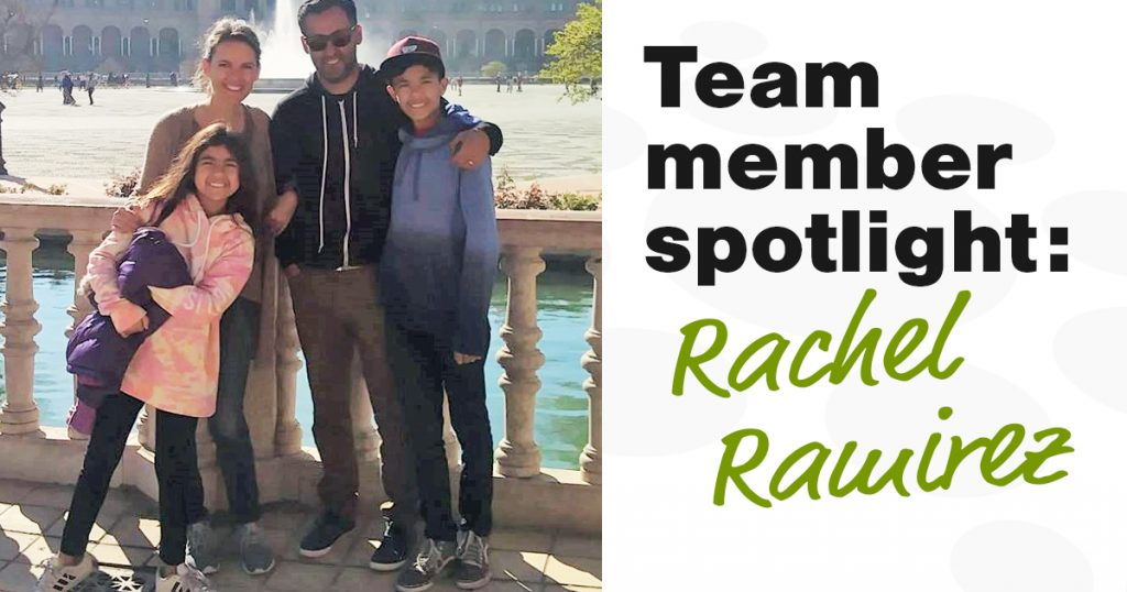 Team member spotlight: Rachel Ramirez